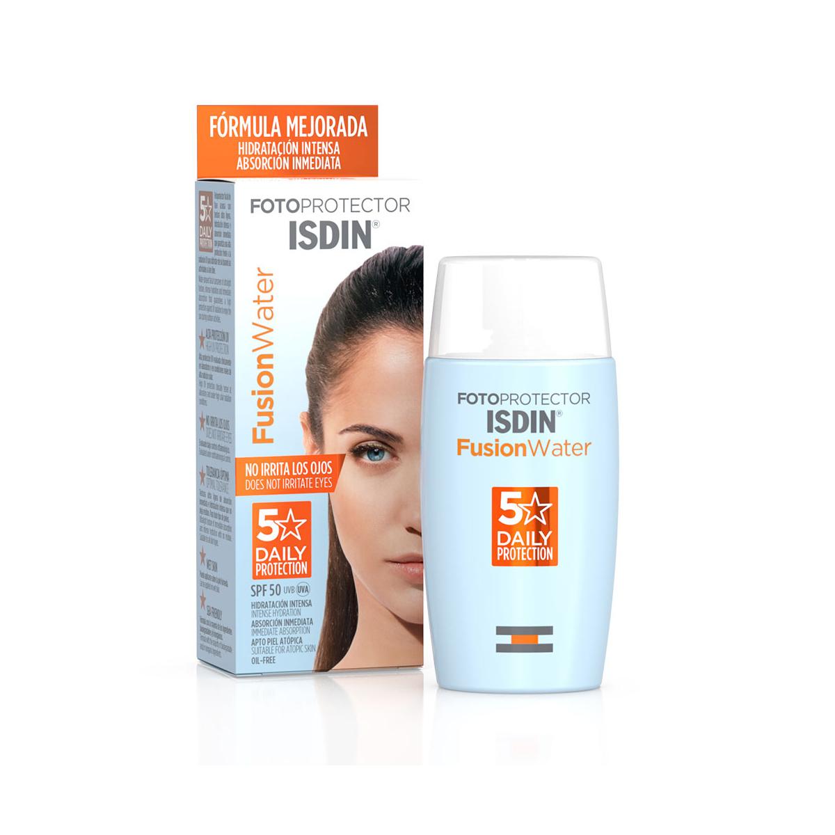 Protector solar Isdin fusion water